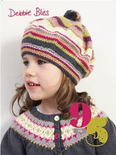 Debbie Bliss 9  to 5 Childrens Knitwear Collection. 18 Knitwear Patterns in DK and Aran Weight Yarn